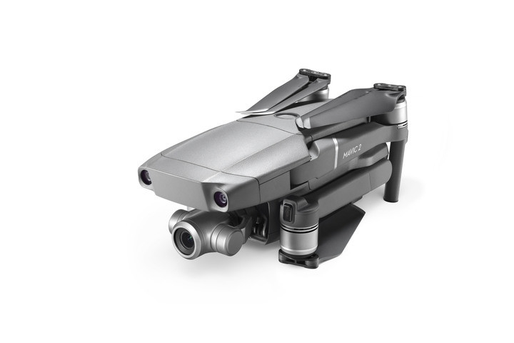 DJI Mavic 2 Zoom kan nemt foldes sammen for nem transport