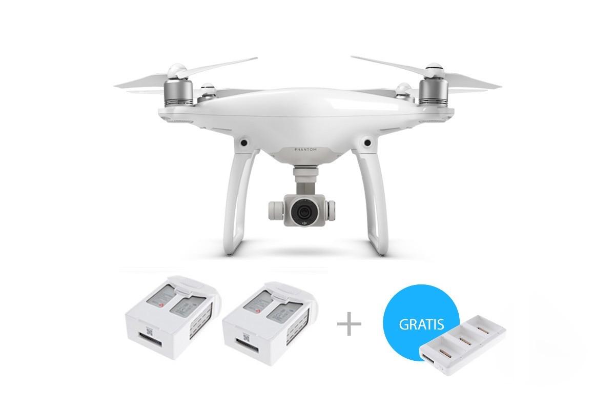 52cc79eb5b77a DJI Phantom 4 Black Driday drone tilbud med 2 ekstra batterier og hub